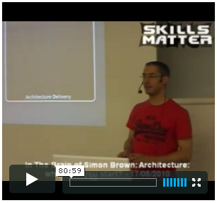 Simon Brown's presentation on Software Architecture
