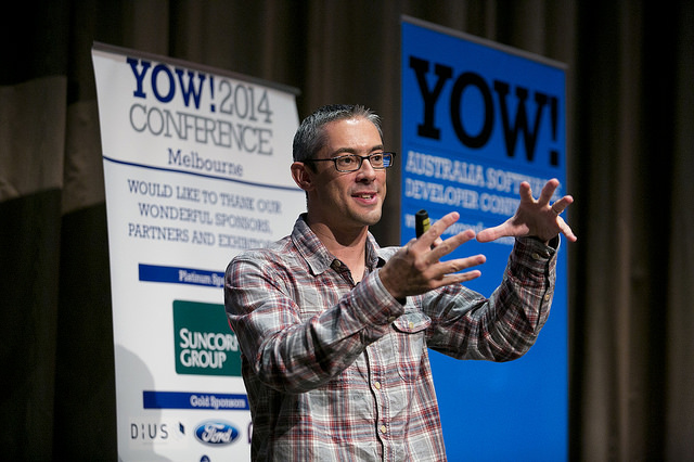 Speaking at YOW! in Australia
