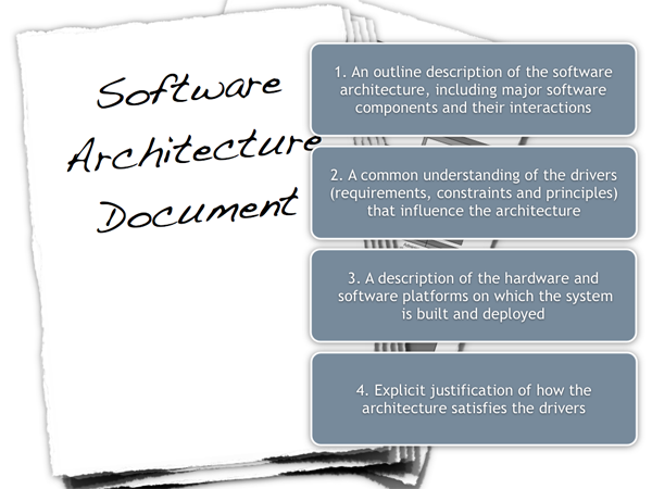 Software architecture document guidelines